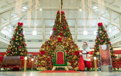 Clima de Natal no GV Shopping
